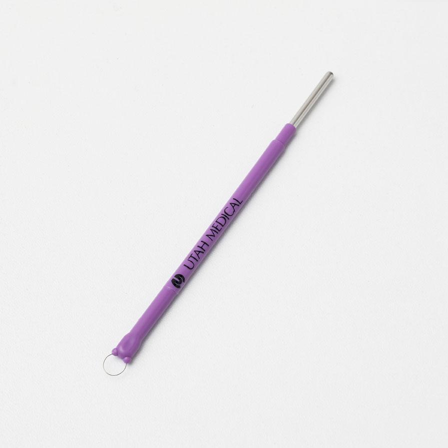 Loop, violet, 5x5mm