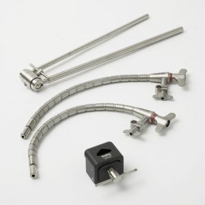 Twin Arm System, long reach post m/quick connect Hex fitting