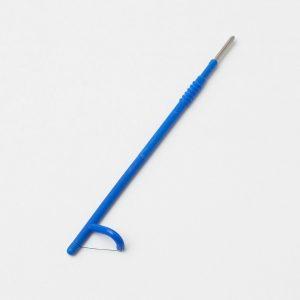 Elektrode, large, shallow, 15x8mm, længe 132mm