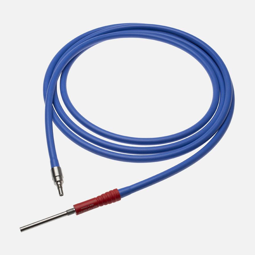 Lyskabel, Xenon, Ø3,5mm, 3m lang, blå