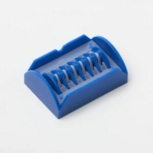 Hans Clip, blå, 2-7mm, str. M